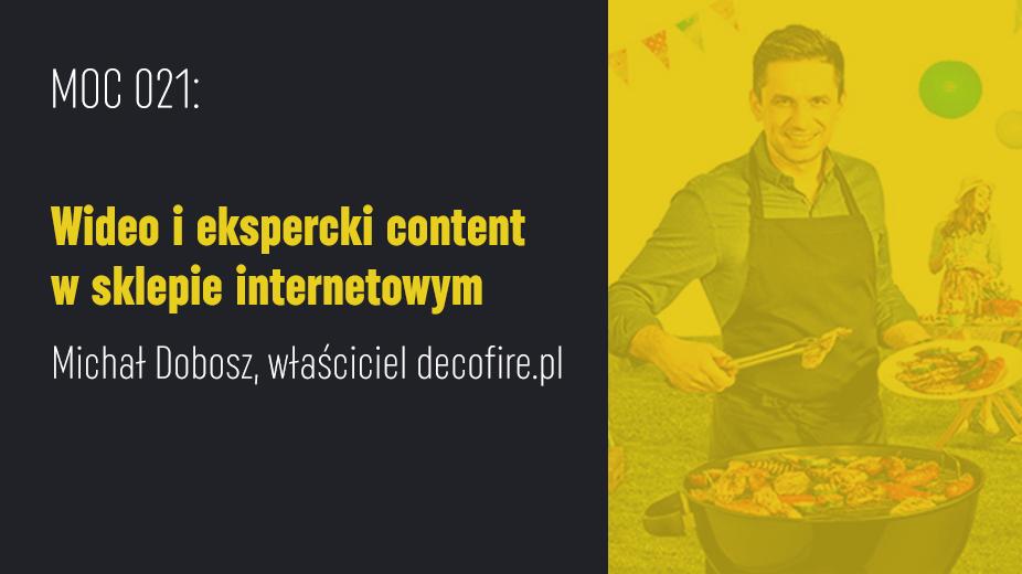 Michał Dobosz podcast wideo content